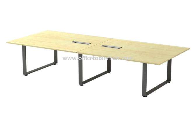 OLVA RECTANGULAR CONFERENCE MEETING OFFICE MEETING TABLE ASQVB 30 (C/W FLIPPER BOX)