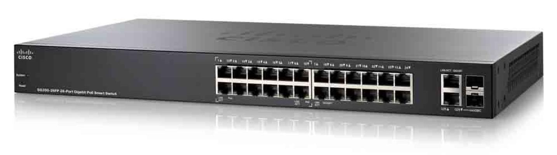 Cisco SG200-26FP 26-port Gigabit Full-PoE Smart Switch