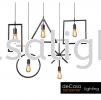 5 Shape Pendant Light TLS-SHAPE-5 Loft Design PENDANT LIGHT