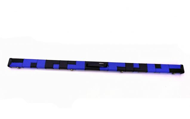 SNOOKER CUE CASE BLUE-BLACK