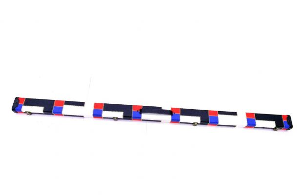 1PC RED-BLUE-WHITE-BLACK CS CUE CASE