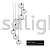 JL-MJ05-BK-8RB HIGH CEILING PENDANT LIGHT