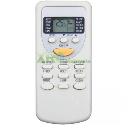 CS-25C3A ISONIC AIR CONDITIONING REMOTE CONTROL