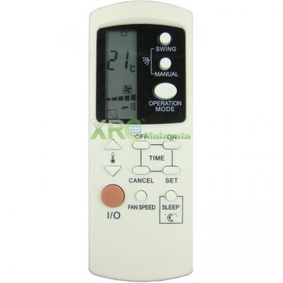MAC-25DGM MISTRAL AIR CONDITIONING REMOTE CONTROL