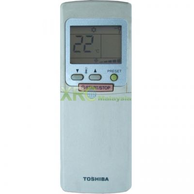 WC-H2UE TOSHIBA AIR CONDITIONING REMOTE CONTROL