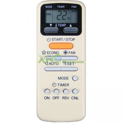 WC-K2JE CARRIER AIR CONDITIONING REMOTE CONTROL