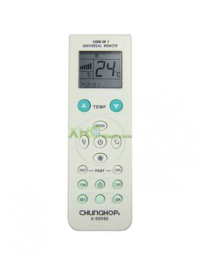 K-9098E CHUNGHOP UNIVERSAL MULTI AIR CONDITIONING REMOTE CONTROL