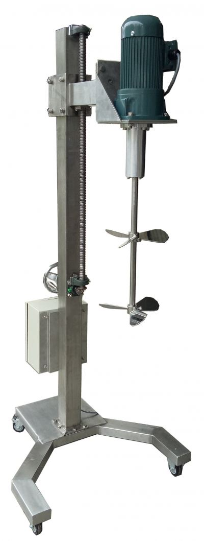 MS-200 MIXING MACHINE WITH ELEVATING STAND (CODE: 1001)