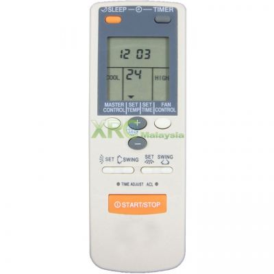 AR-JE6 GENERAL AIR CONDITIONING REMOTE CONTROL