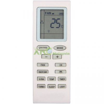 YB1FA GREE AIR CONDITIONING REMOTE CONTROL