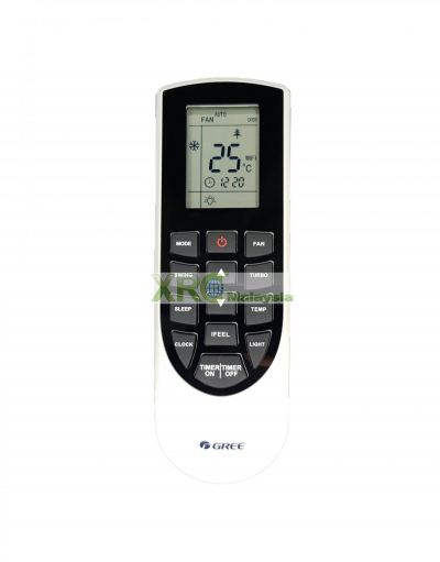 YAN1F1 GREE AIR CONDITIONING REMOTE CONTROL