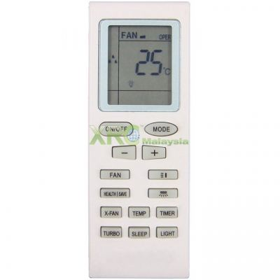 YB1F2 GREE AIR CONDITIONING REMOTE CONTROL