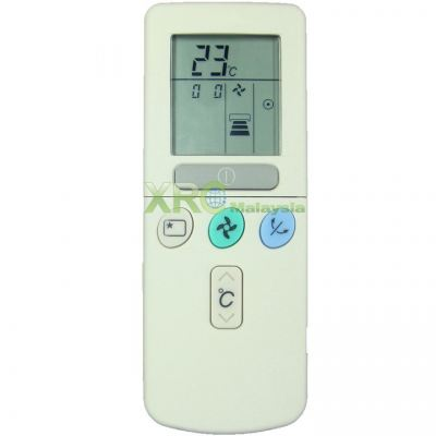 RAR-52P1 HITACHI AIR CONDITIONING REMOTE CONTROL