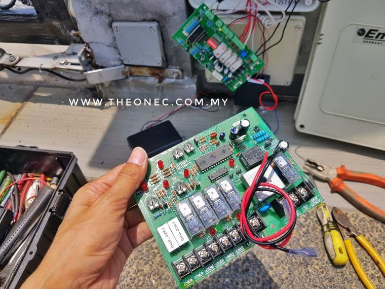 Autogate Repair Circuit Board (PCB) control panel