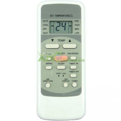KAC-10BM KHIND AIR CONDITIONING REMOTE CONTROL