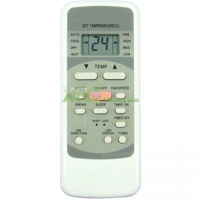 R51D/CB MEC AIR CONDITIONING REMOTE CONTROL