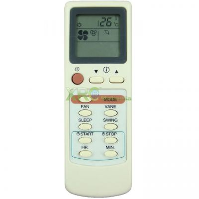 AC-S13C MECK AIR CONDITIONING REMOTE CONTROL