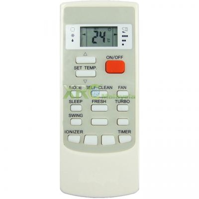 YKR-H002E MISTRAL AIR CONDITIONING REMOTE CONTROL