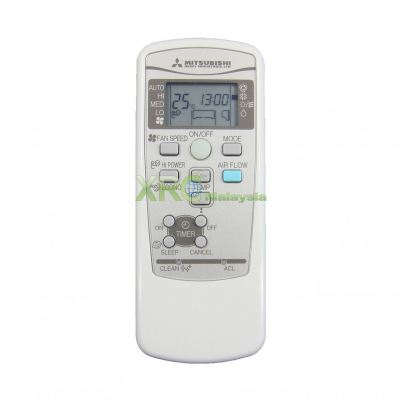RKX502A001B MITSUBISHI AIR CONDITIONING REMOTE CONTROL
