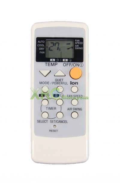 A75C2458 NATIONAL AIR CONDITIONING REMOTE CONTROL