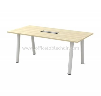 BERLIN RECTANGULAR MEETING OFFICE TABLE ABVC 18 (C/W FLIPPER COVER)