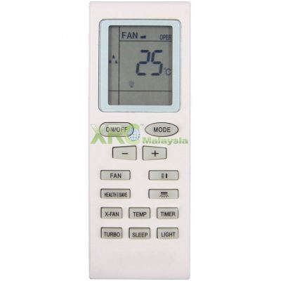 YB1F2 PENSONIC AIR CONDITIONING REMOTE CONTROL