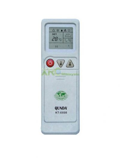KT-TS08 TOSHIBA UNIVERSAL MULTI AIR CONDITIONING REMOTE CONTROL