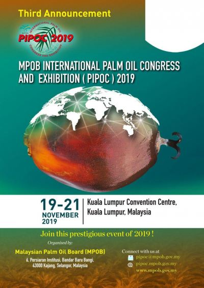 International Palm Oil Congress (PIPOC) 2019