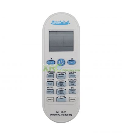KT-B02 QUNDA UNIVERSAL MULTI AIR CONDITIONING REMOTE CONTROL