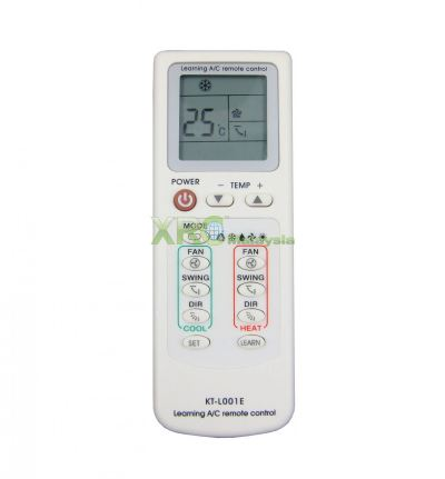 KT-L001E QUNDA UNIVERSAL LEARNING AIR CONDITIONING REMOTE CONTROL