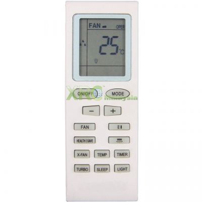 YB1FS SINGER AIR CONDITIONING REMOTE CONTROL