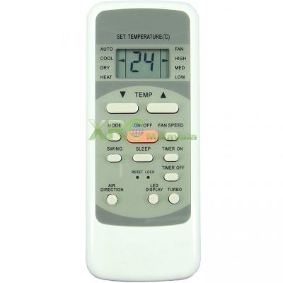 FAC-02 FUJITECH AIR CONDITIONING REMOTE CONTROL