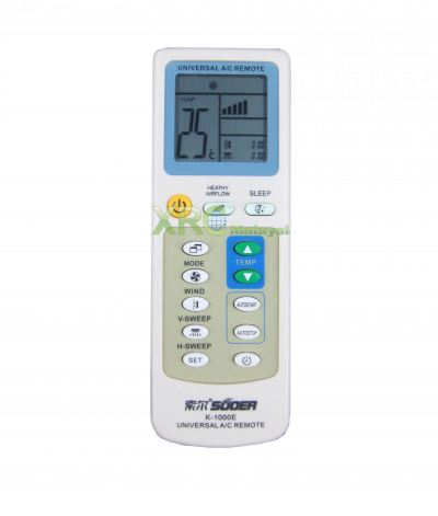 K-1000E SUOER UNIVERSAL AIR CONDITIONING REMOTE CONTROL