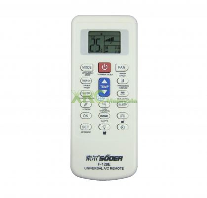 F-126E SUOER UNIVERSAL AIR CONDITIONING REMOTE CONTROL