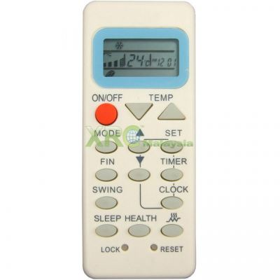 YL-M07 HAIER AIR CONDITIONING REMOTE CONTROL