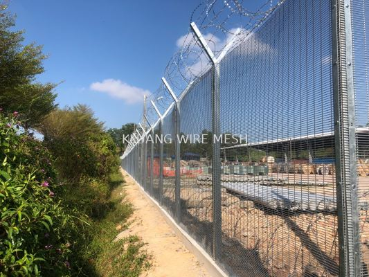 Hi Security Anti Climb Fence 358 series