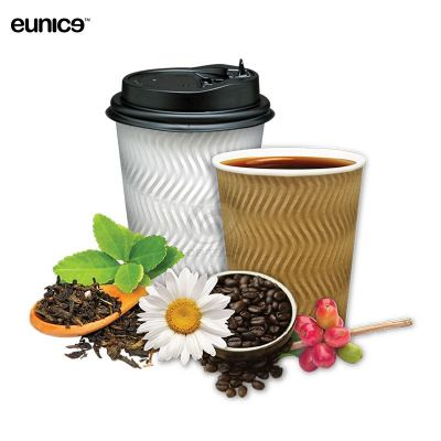 Eunice Paper Ripple Hot Cup