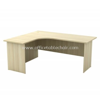 L-SHAPE OFFICE TABLE WOODEN BASE TABLE EXL 552