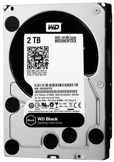 WD Black 2TB Performance Desktop Hard Drive WD2003FZEX