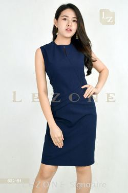 632191 WAIST LINE DETAIL DRESS【BUY 2 FREE 3】