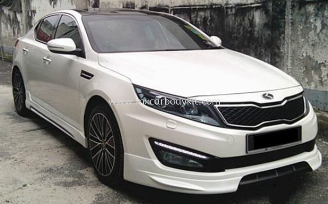 KIA OPTIMA K5 2012 BODYKIT WITH SPOILER