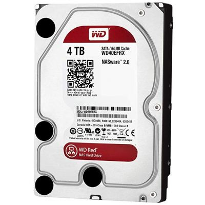 WD Red 4TB NAS Hard Drive WD40EFRX