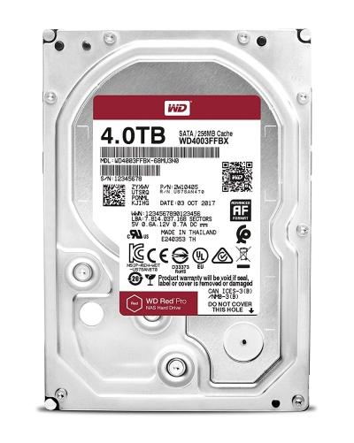 WD Red PRO 4TB NAS Hard Drive WD4003FFBX