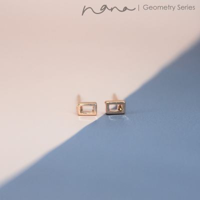 Geometry - E103 Rectangle Abstract (Rose Gold)