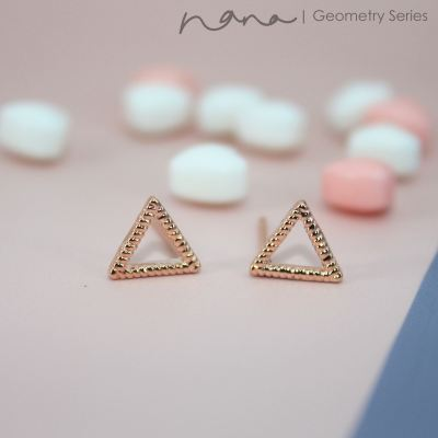 Geometry - E106 Triangle (Rose Gold)
