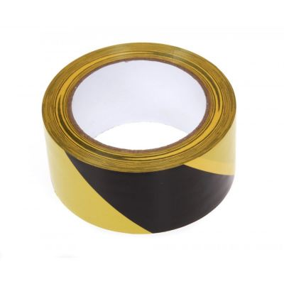 Yellow Black Floor Tape