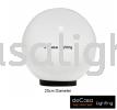 NSB-GLOBE-OPAL-200 Outdoor Pillar Light OUTDOOR LIGHT