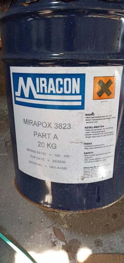 Miracon Epoxy Glue Miropox 3823 Part A 20kG MY2