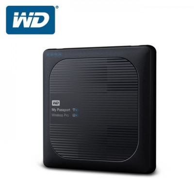 WD MY PASSPORT WIRELESS PRO 3TB - WDBSMT0030BBK-PESN