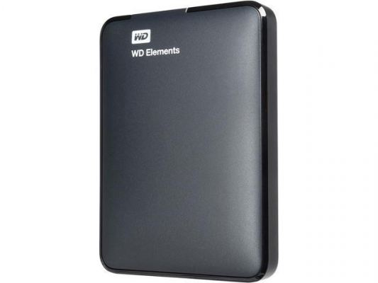 "WD ELEMENTS PORTABLE 2.5"" 1TB, USB 3.0 - WDBUZG0010BBK-EESN"